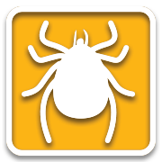 Mr. Natural lawn care icon tick